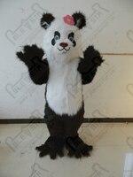 Лидер продаж женский длинный мех панда маскарадный костюм мультфильм животных костюмы