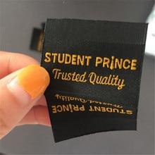 Custom Double Density Clothing Label Woven Name