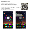 Coolo DC 5V USB LED Strip 5050 Waterproof RGB LED Light 1M   2M   2 x 50cm APP Bluetooth Control for TV skateboard bicycle discount
