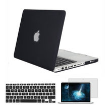 7c06369393f7d Mosiso Laptop Şeffaf Kabuk Kapak macbook çantası Pro 13 15 CD Sürücü  A1278/A1286 Notebook