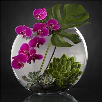 Diamentowe hafty majsterkowanie diamentowe malowanie nowe muliną orchidea sukulenty diamentowe rhinestone wklejone malowanie home decor tanie i dobre opinie KAMY YI OBRAZY CN (pochodzenie) Kolorowe pudełko Pojedyncze Akrylowe Pełna Floral Zwijane POWYŻEJ 45 Plac W stylu europejskim i amerykańskim