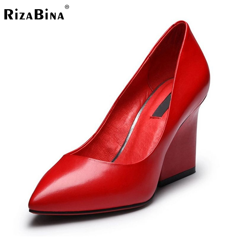 women real genuine leather stiletto pointed toe high heel shoes sexy fashion brand pumps ladies heels shoes size 34-39 R5634 allbitefo fashion sexy thin heels pointed toe women pumps full genuine leather platform office ladies shoes high heel shoes