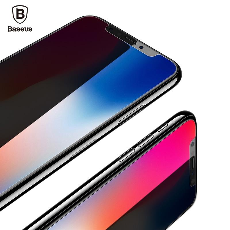 Baseus 3D 0,23mm Displayschutz Gehärtetem Glas Für iPhone X weiche Kante Hafenpersenning Gehärtetem Film Für iPhone 10
