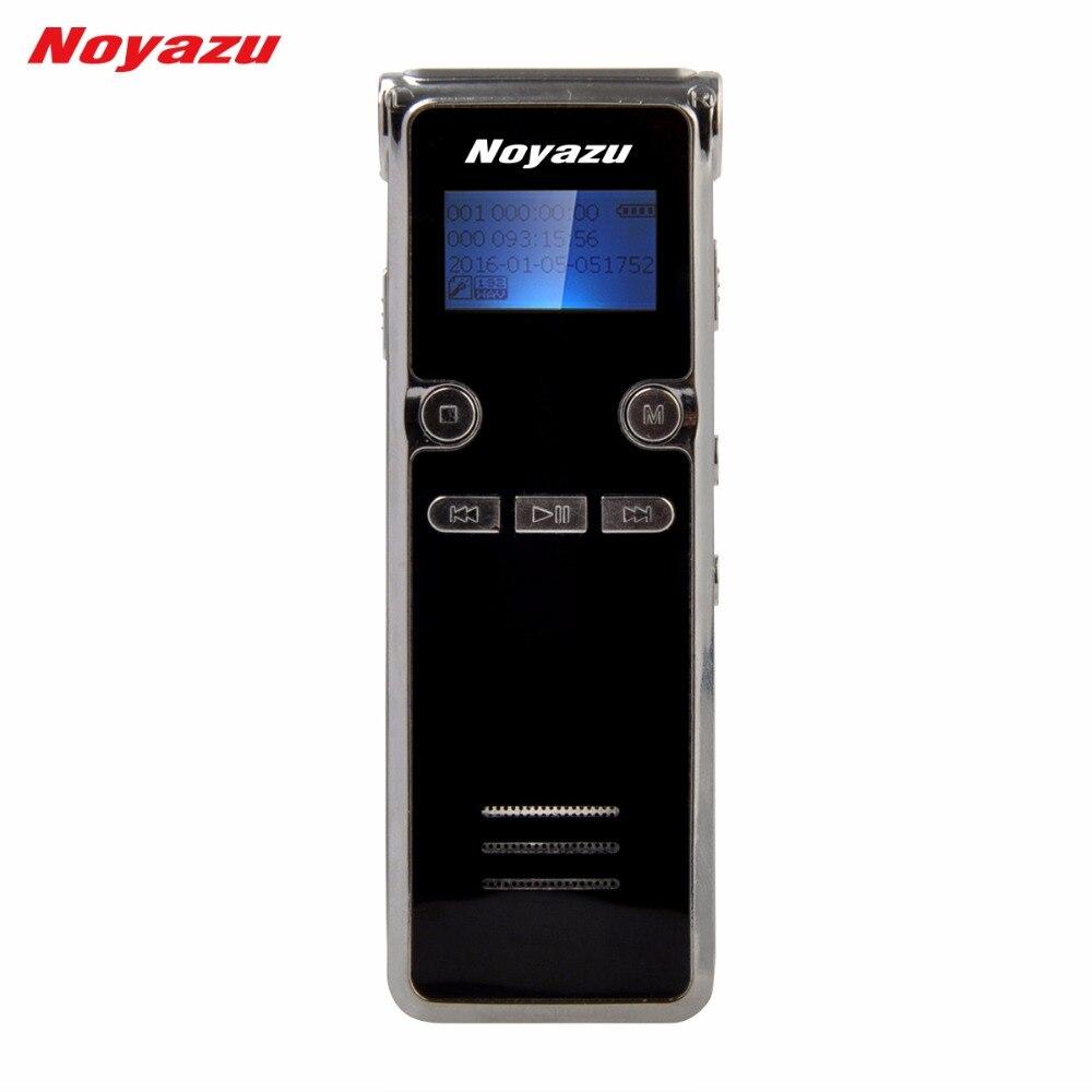 Noyazu 906 16G Professionnel Numérique Voix Stylo Enregistreur avec Mp3 Player Sound Enregistrement Microphone Ditaphone