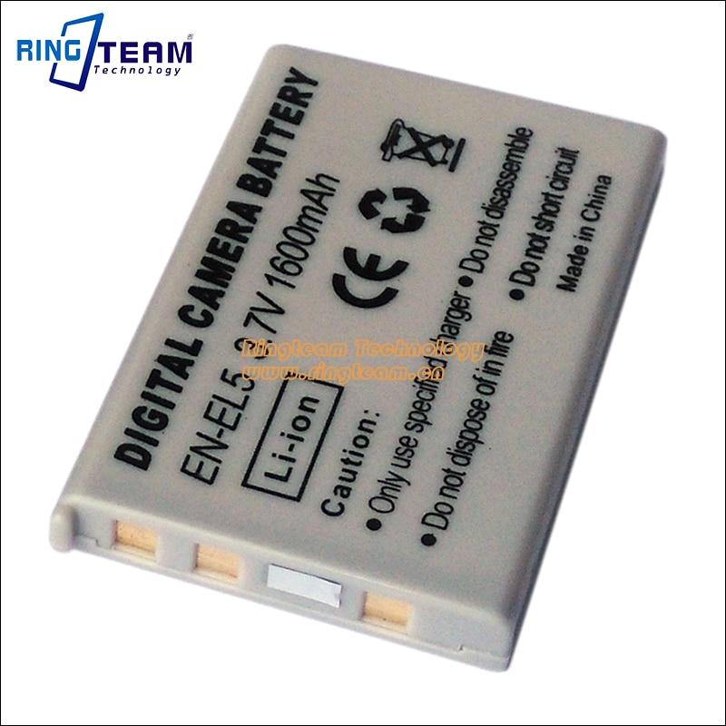Digital Battery EN EL5 ENEL5 for Nikon Coolpix P4 P80 P90 P100 P500 P510 P520 P530