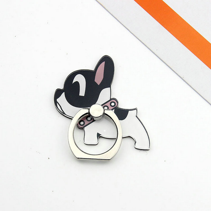 Dog Phone Holder Ring Telefon Tutucu Expanding Stand Grip Clip Ring Support Phone Accessories For Phone Ring On The Phone