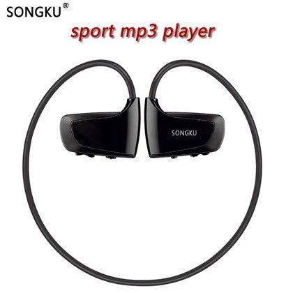 SONGKU W262 8 ギガバイト 16 ギガバイト Mp3 プレーヤースポーツ MP3 音楽プレーヤーウォークマンイヤホンヘッドホンランニング Mp3 プレーヤー PK WS413 WS615
