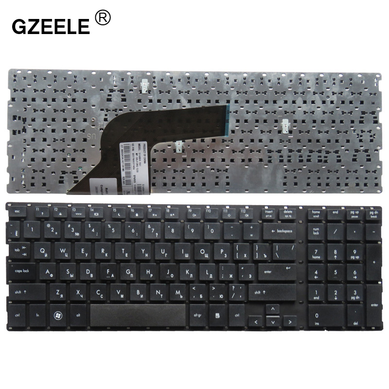 GZEELE Russian Laptop Keyboard For HP PROBOOK 4510s 4515s 4710 4710s 4750S  516884-001 516884-031 536537-001 536537-031 RU BLACK