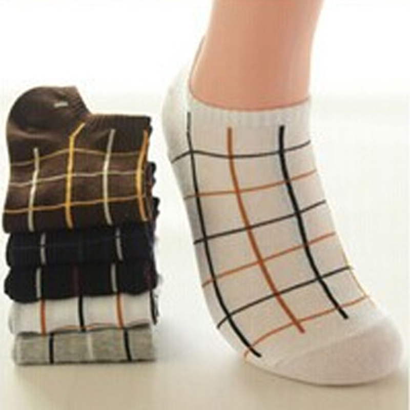 37252ab73f21 Casual Breathable Short Socks For Mens Meias 6 pairs lot Male Cotton Ankle  Sock Calcetin Slippers ...