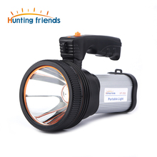 12pcs/lot Hunting friends Super Bright LED Portable Light(Built-in 9000mA li-ion Battery)+USB Chaging cable+ Shoulder Strap