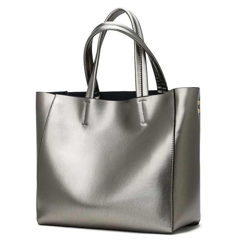 4cc0afbcff DINCAR Leisure Women Bag High Quality Pu Leather Handbags Set Female Big  Shoulder Bag Silver Gold