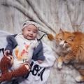Детские Трико Новорожденных Хлопок Тела Ребенка С Коротким Рукавом Лиса Боди Детские Мальчики Девочки Пижамы Одежда
