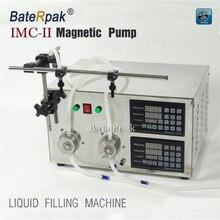цена на IMC-II Double  filling nozzle steel shell CNC magnetic pump liquid filling machine 220V 50/60Hz