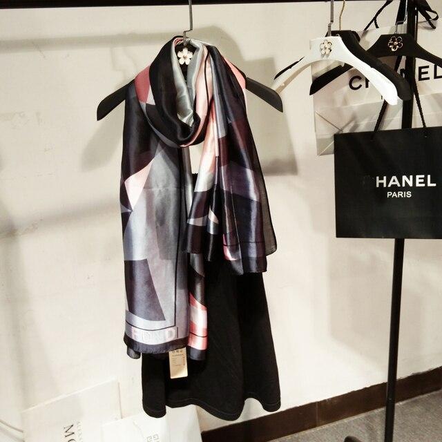 [SOUR LEMON] Winter Scarf Women Silk Fashion Style luxury brand echarpe  platki i sharfy dlya zhenshchin shawls and scarves