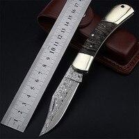2018 новая горячая продажа шведский порошок Дамаск походный складной нож самообороны портативный подарок коллекция фруктов Ножи EDC инструме