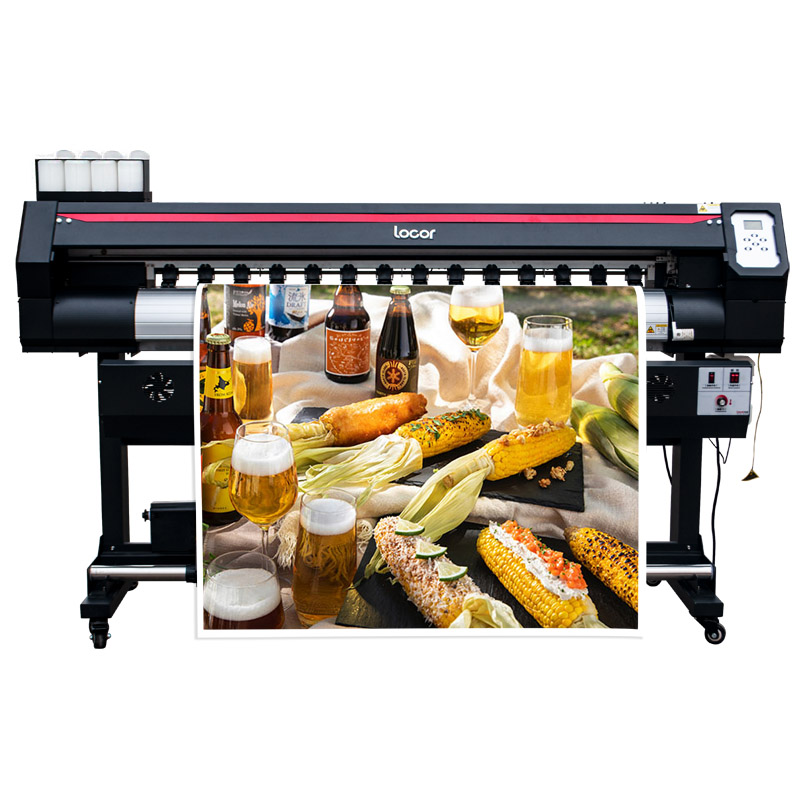 1600Mm Eco Solvent Printing Machine Wide Format Printer Free Shipping Sign Canvas Banner Printer 1.6M Inkjet Printer