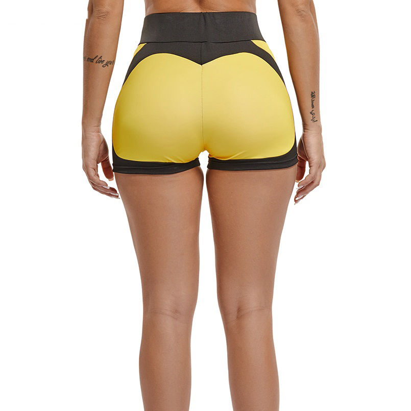 Hot New!Yoga Sport Shorts for Women Gym Fitness Workout panties Patchwork Female compression short legging Training gym Clothing