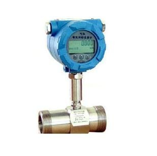 Liquid turbine flowmeter/sensor/LWGY-15 threaded connections  with display