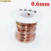 ChengHaoRan 0,6mm 1 mt QA-1-155 Polyurethan emaillierten Kupferdraht emaillierten Reparatur Magnet Draht 0.6R 1 meter