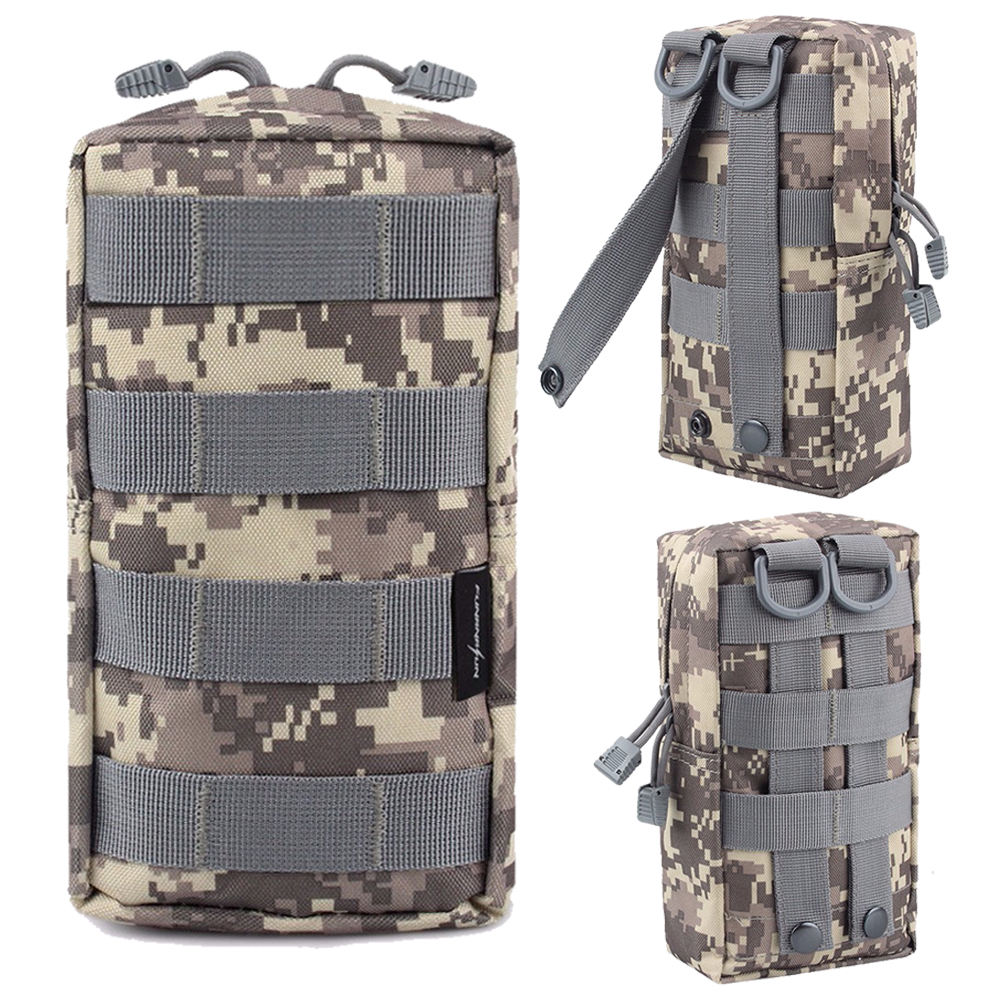 Tactical Pouch Accessory Tool Waist Bag Nylon Tactical First Aid Kit Accessori Package Military Paintball Hunting Bags Camping & Hiking Hot