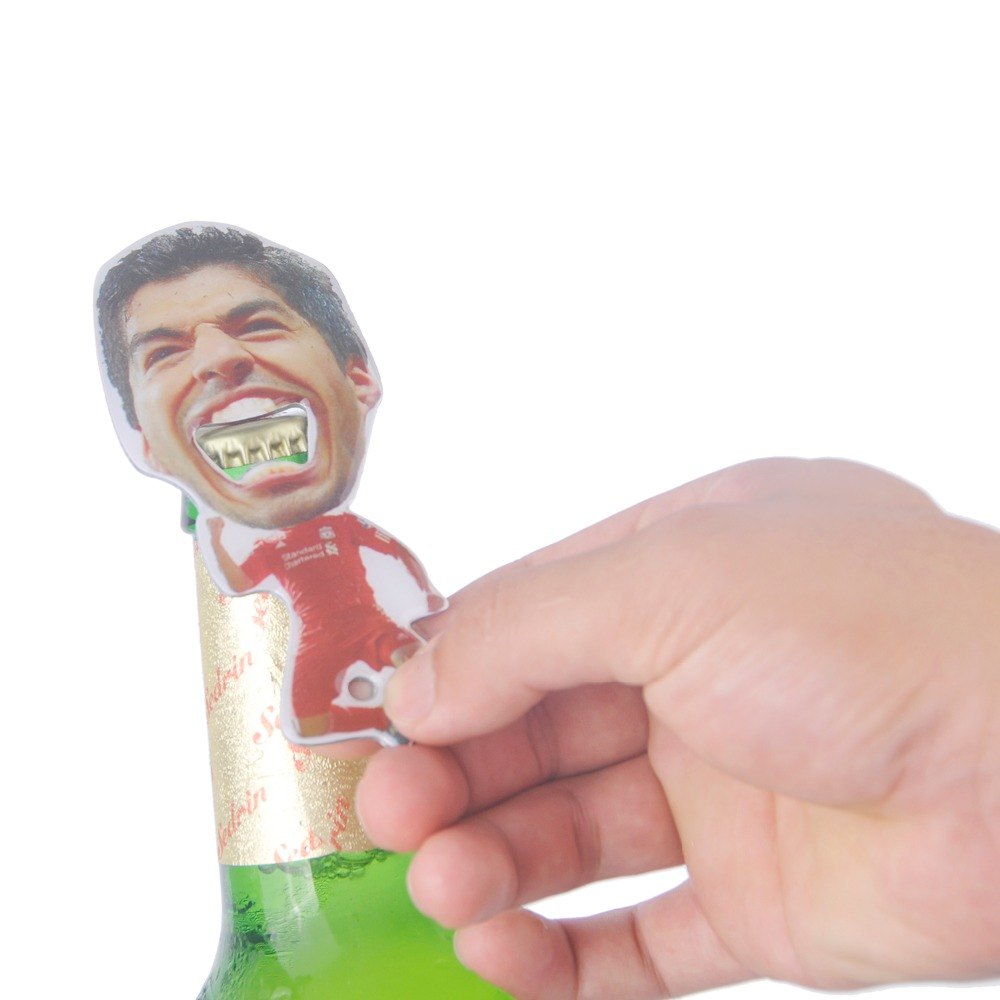 VILEAD Novelty Bottle Opener Zink Aloi Glass Beer Opener Portable - Dapur, makan dan bar - Foto 3