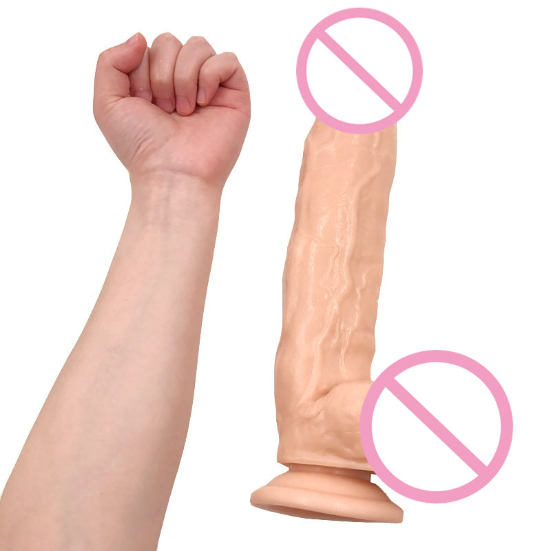 Super Huge Dildo 30*5.8CM Extreme Big Realistic Dildo Sturdy Suction Cup Penis Dick Dong Sex Product for Women Sex Toys 31cm extreme big realistic dildo super thick huge big dildo sturdy suction cup penis dick dong for women sex toys sex product
