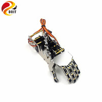 5DOF Robot Hand/Five Fingers/Metal Manipulator Arm/Mini Bionic Hand/Gripper/Robot/Car Accessories/DIY RC Toy