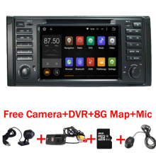 "Android 7.1 Quad Core Gps 7 ""coches Reproductor de DVD para BMW E39 Serie 5/M5 1997-2003 Wifi 3G Bluetooth DVR RDS USB Canbus"