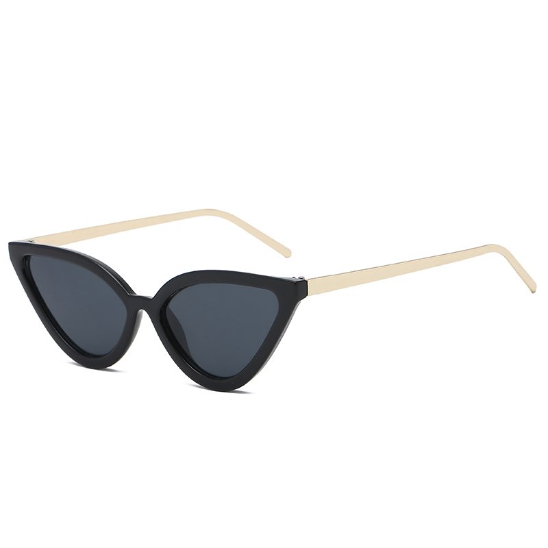 Women Men Retro Sunglasses Trendy Fasgion Leopard Gold Cat Eye Style Gray Blue Silver Driving Party Sunglass Women's Glasses