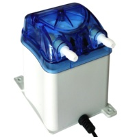 500ml/min, 2 Rollers, Honlite 12V Peristaltic Pump with Exchangeable Pump Head and PharMed BPT Peristaltic Tube