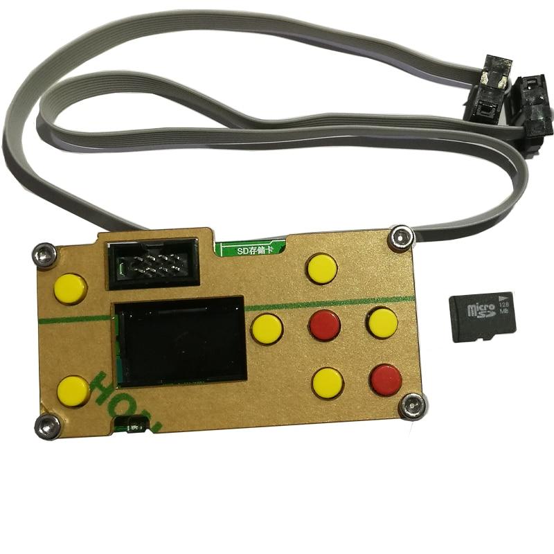 CNC Mini Laser Engraving Machine Offline Controller for CNC 3018 2418 1610 DIY Laser Engraver 128MB