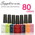 Limited Gelpolish 1pcs Sapphire Nail Gel Polish Newest 80 Fashion Uv Varnish 7.3 Ml Soak Off Long-lasting Art For Makeup