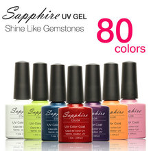 Limited Gelpolish 1pcs Sapphire Nail Gel Polish Newest 80 Fashion Uv Varnish 7 3 Ml Soak