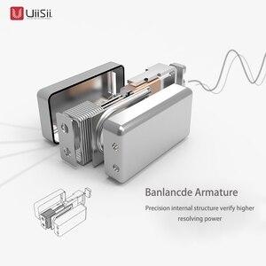Image 4 - UIISII BA T8S 2DD + 1BA 6 Sürücü Hibrid teknolojisi Kulaklık HIFI Gürültü Izole Stereo mic ile Monitör Kulaklık % 100% Orijinal kutusu