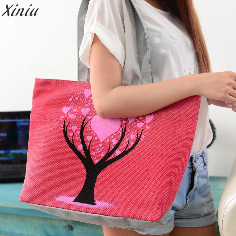 Fashion Handbag Women Bag high quality Cute Printing Women Canvas Bags Shoulder Casual Handbags Bolsas Feminina Sac A Main#5