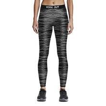 Women Sporting Fitness Leggings Hot Digital Printed Work Out Stretchy Leggings Elastic Waist Ankle Length Ropa