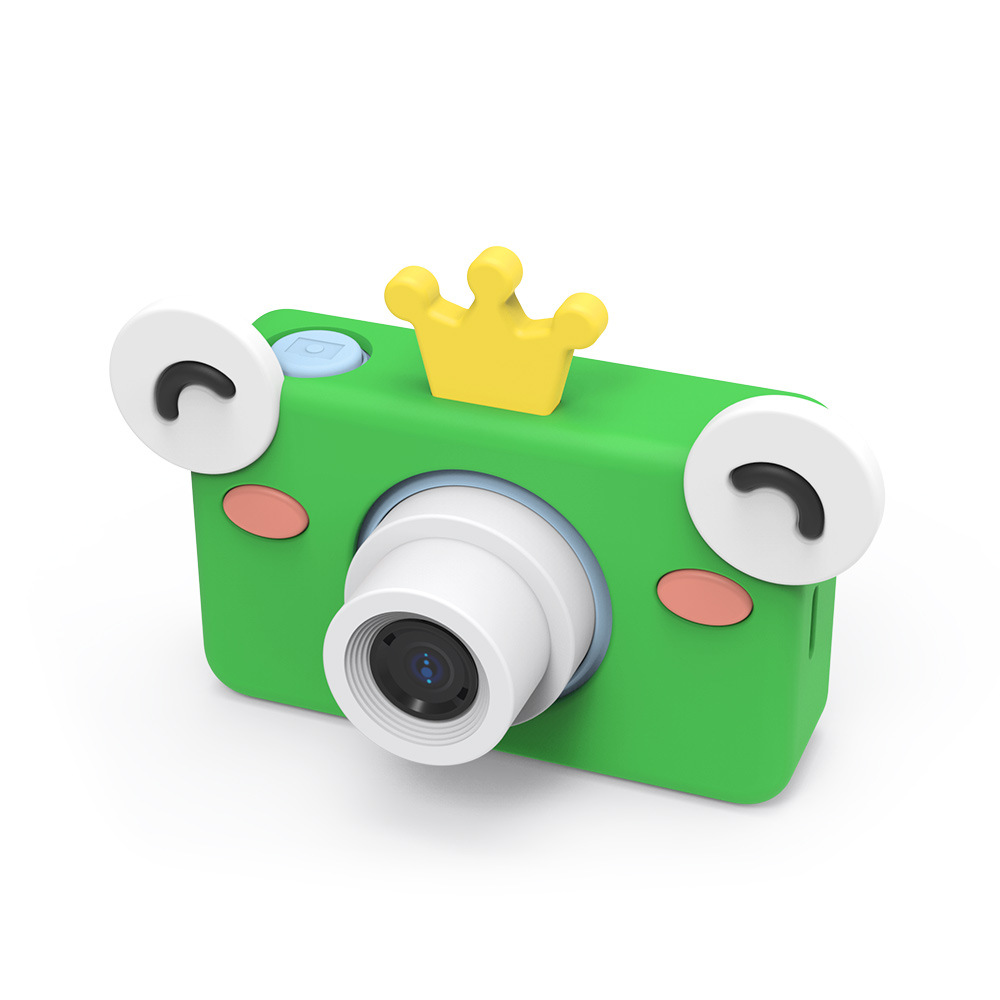 Toy Cameras 8MP Cartoon Camera HD Video Mini Camera Camcorder For Kid Baby Gifts 2.2 Inch Digital Video Creative DIY 8GB Memory