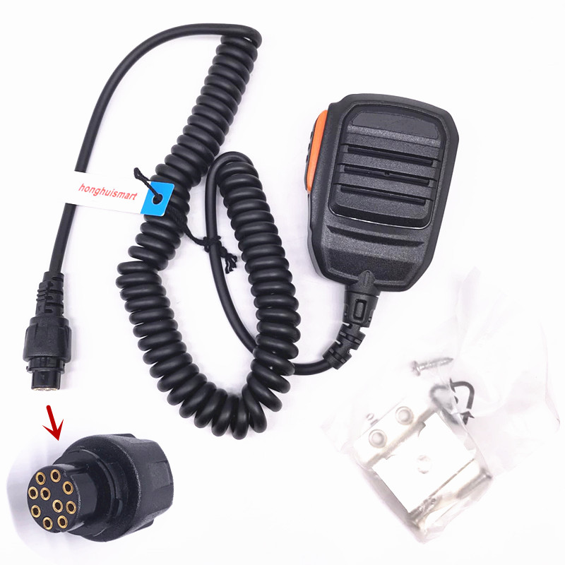 For Hytera DMR Repeater MD780//G RD980 SM16A1 Handheld Microphone Speaker PTT