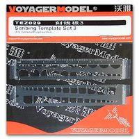 HOBBY KNL Voyager Model TEZ029 Modelarstwo Uniwersalny Szablon Scribe-3