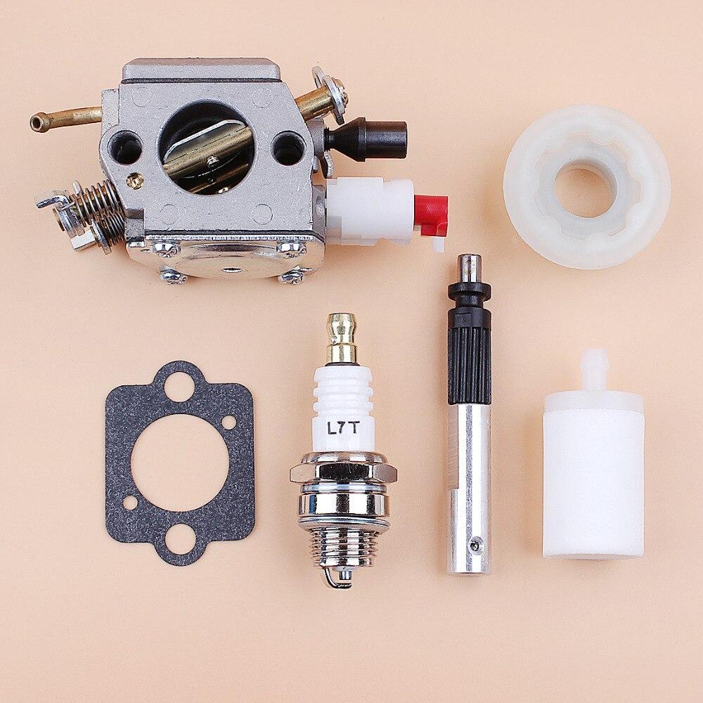 346XP 503281812 Zama Chainsaw Husqvarna Gear 345 353 Pump Kit C3 350 Piston Carburetor For 340 Oil Worm Carb EL18B