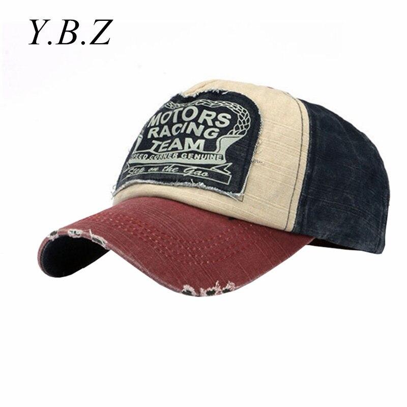 Vintage Distressed Wearing Style   Baseball     Cap   Brand Snapback   Caps   Men Women Retro Snapback Hats Van Cotton Gorras CB022