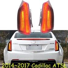 Video, color negro para Cadillac ATSL luz trasera, 2014 ~ 2017,LED, lámpara trasera ATSL, ATS L,ATS L, luz diurna atsl, luz trasera atsl