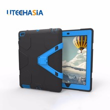 For Apple iPad 2/3/4 Case Cover High Impact Resistant Hybrid Three Layer Heavy Duty Armor Defender Full Body Protector Case