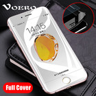 VOERO 3D 9H Curved Edge Full Cover Tempered Glass For iPhone 7 6 S 6S 8 Plus Screen Protector For iPhone 7 Plus Protection Film