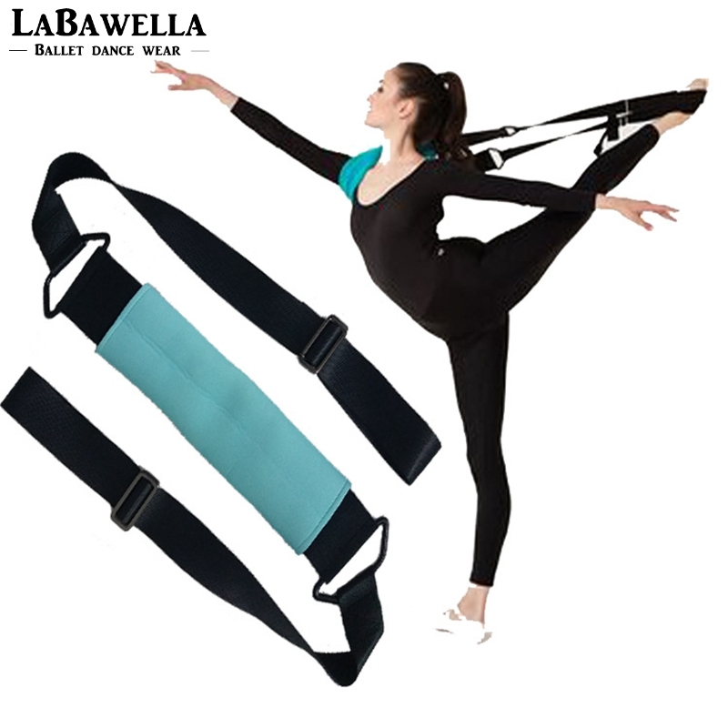 Women Ballet Soft Opening Band Elastic Exercise Pull Up Strap Fitness Pilates Dance Training Yoga Stretch Resistance Band DT021A