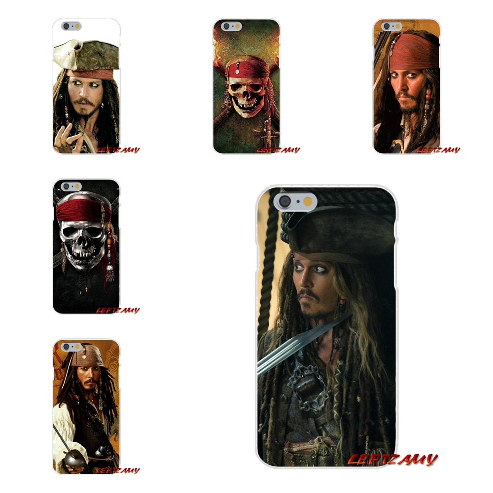 Accessories Phone Cases Covers For iPhone X 4 4S 5 5S 5C SE 6 6S 7 8 Plus Pirates of the Caribbean