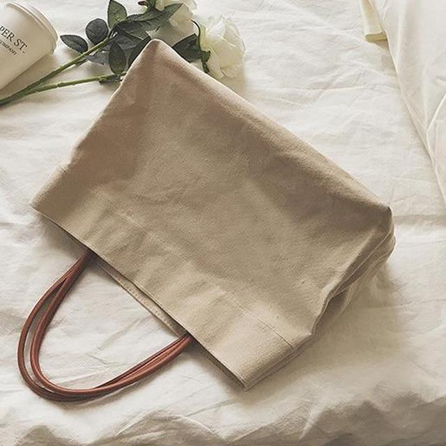 Canvas Totes Beach Bag Shoulder Bag 1