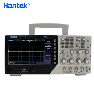Image 1 - Hantek DSO4084B Digital Oscilloscope 4 Channels 80MHZ Bandwidth Portable USB Osciloscopio Portatil +EXT+DVM+Auto Range Function