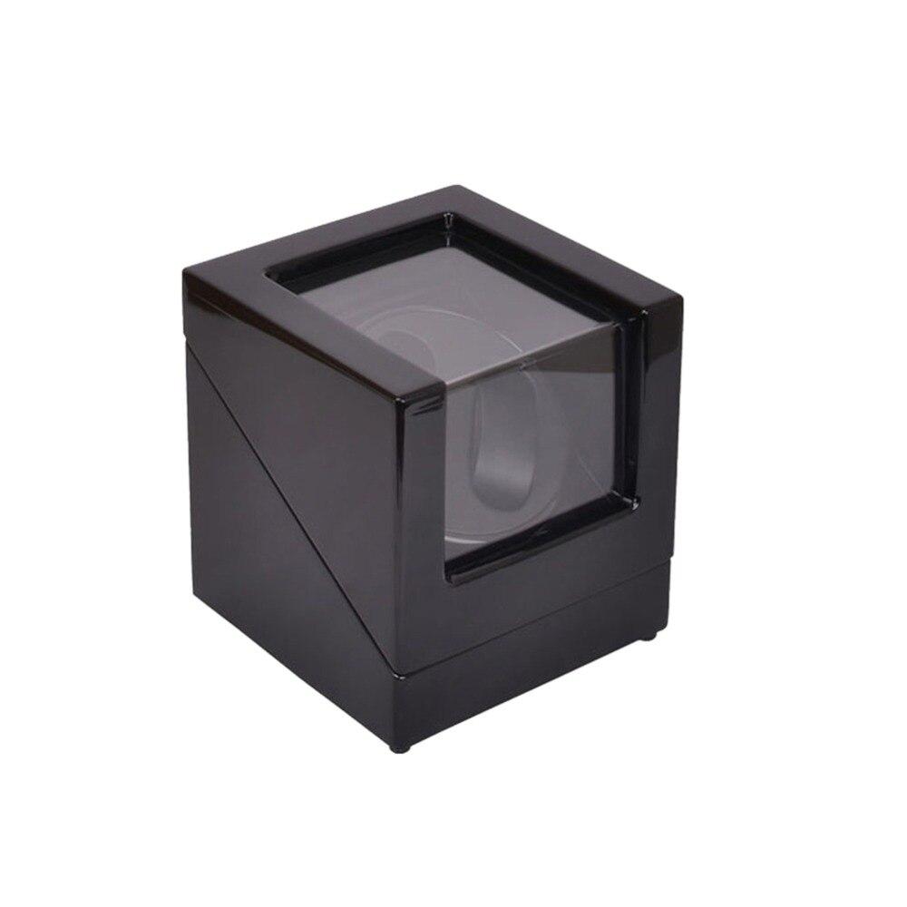 Dobadoura do Relógio Automática + 0 Dobadoura do Relógio de Madeira Caixa de Armazenamento Caixa de Exposição Preto e no Rotação Madeira Exterior é Interior Preto 2020 lt 2 de