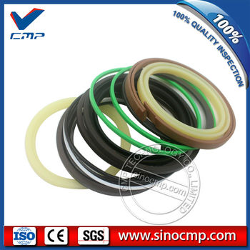 PC130-7 boom cylinder oil seal service kits, repair kit for Komatsu excavator